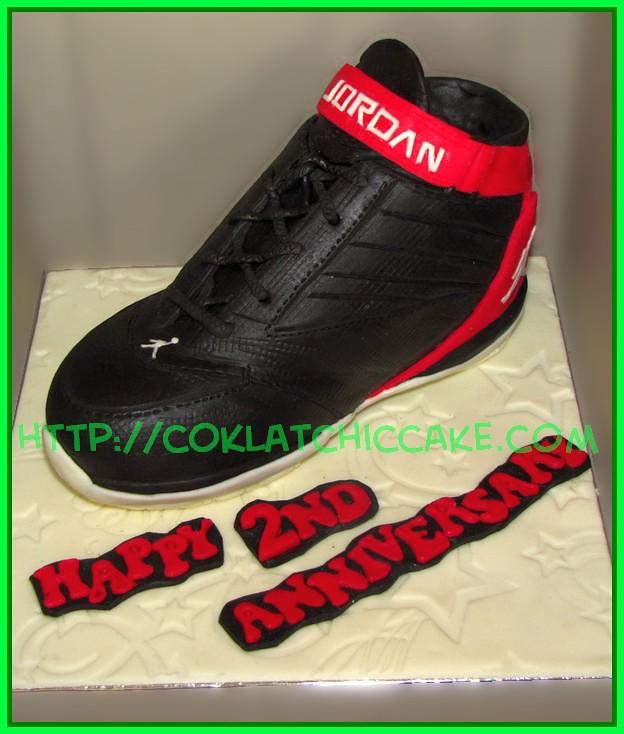 Cake Sepatu Jordan