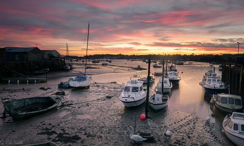 seascape sunrise landscape boat nikon harbour filter grad isle wight d800 2470