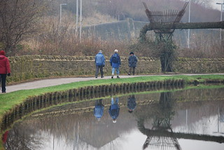 Towpath reflections