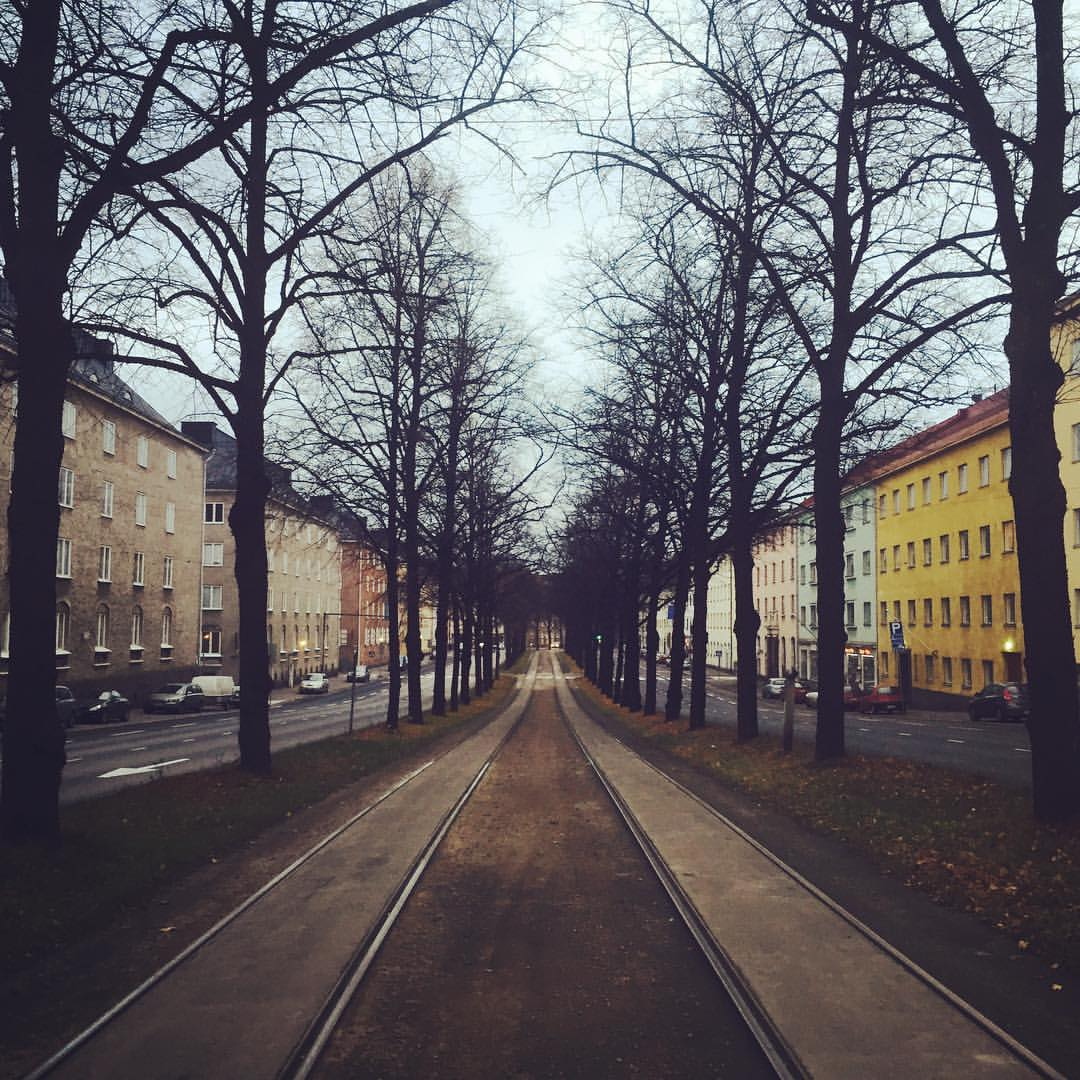 Saturday, 8.30 a.m. It's vewy vewy quiet in our normally so busy neighbourhood of Vallila. We're actually heading to a training about fair travel, that should be interesting! You'll be hearing more about that in our blog later. And oh, remember to check o