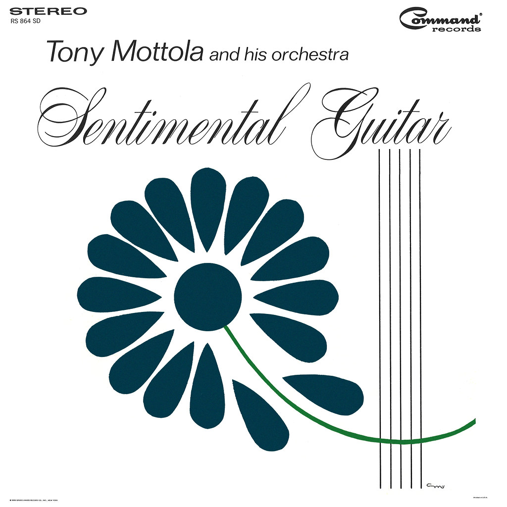 Tony MottoTony Mottola - Sentimental Guitarla
