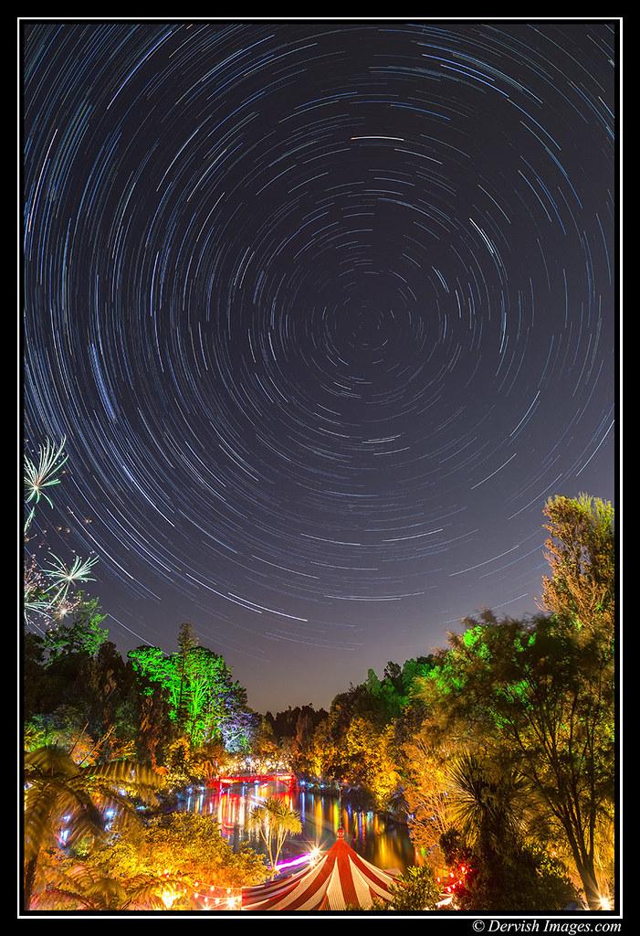 Pukekura Park Star Trail - Canon