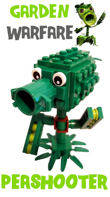 Plants vs zombies garden warfare figures special lego - Plants vs zombies garden warfare toys ...