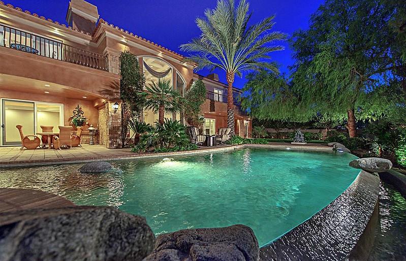 Дом Майка Тайсона в Лас-Вегасе