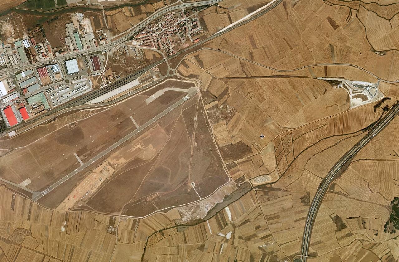 aeropuerto de burgos, burgos, capital rotonda, antes, urbanismo, planeamiento, urbano, desastre, urbanístico, construcción