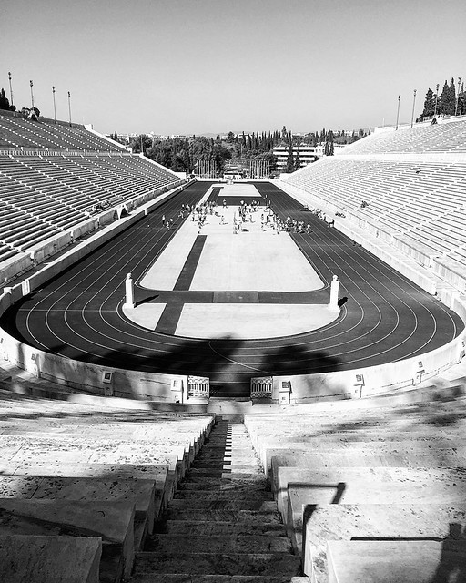 Athens Series   Panathenaic Stadium #Athens #Greece #architecture #travel