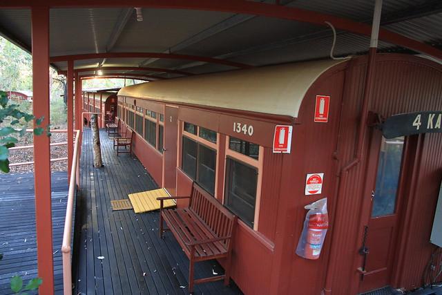 澳洲昆士蘭Undara railway carriage火車廂改裝的客房外觀-20141117-賴鵬智攝