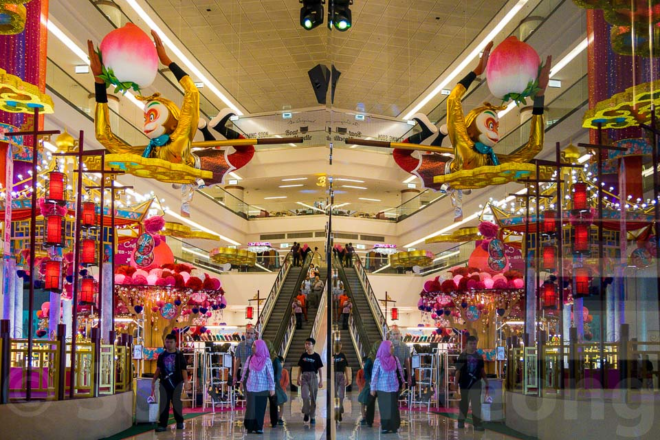 Chinese New Year Decorations @ Kuala Lumpur, Malaysia