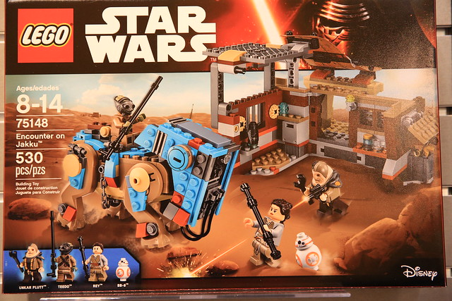 nouveautés LEGO Star Wars 2016 75148 Encounter on Jakku 1