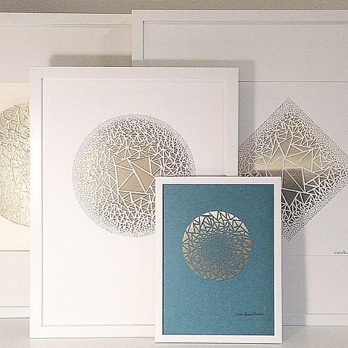 Framed Paper Cuts