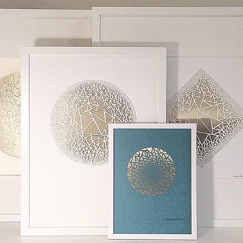 Framed Paper Cuts