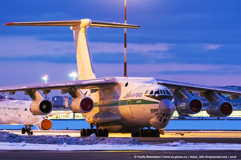 Algerian Air Force Ilyushin Il-76TD 7T-WIP