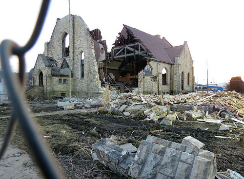 Demolition of St. Agatha's Church Building