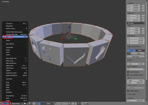 Blender - Object Join