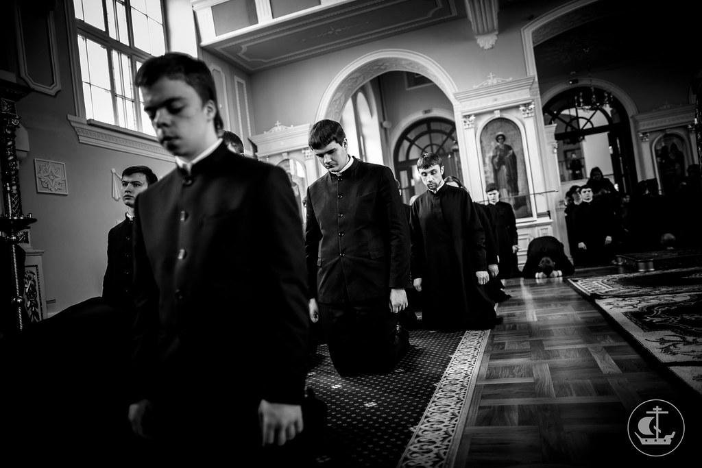 18 марта 2016, Пятница Первой седмицы Великого поста. Утро / 18 March 2016, Friday of the 1st Week of Great Lent. Morning