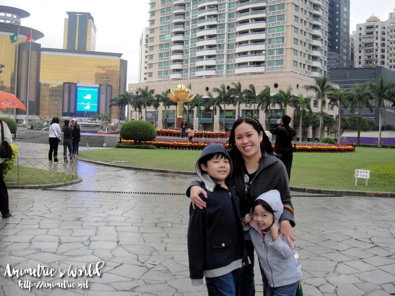 Kids in Macau
