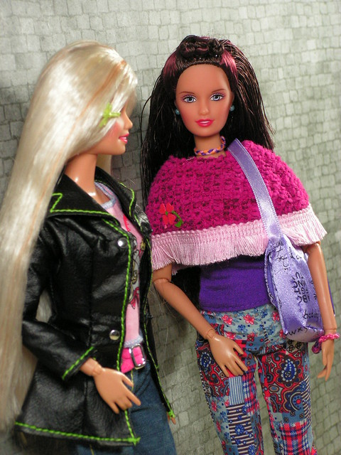 Barbie and Lara