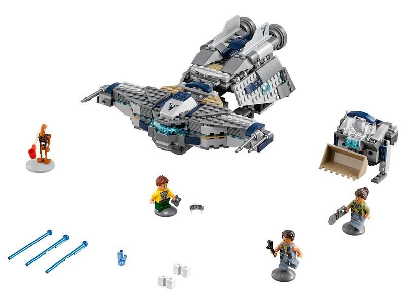 LEGO Star Wars set 2016: 75147 - StarScavenger