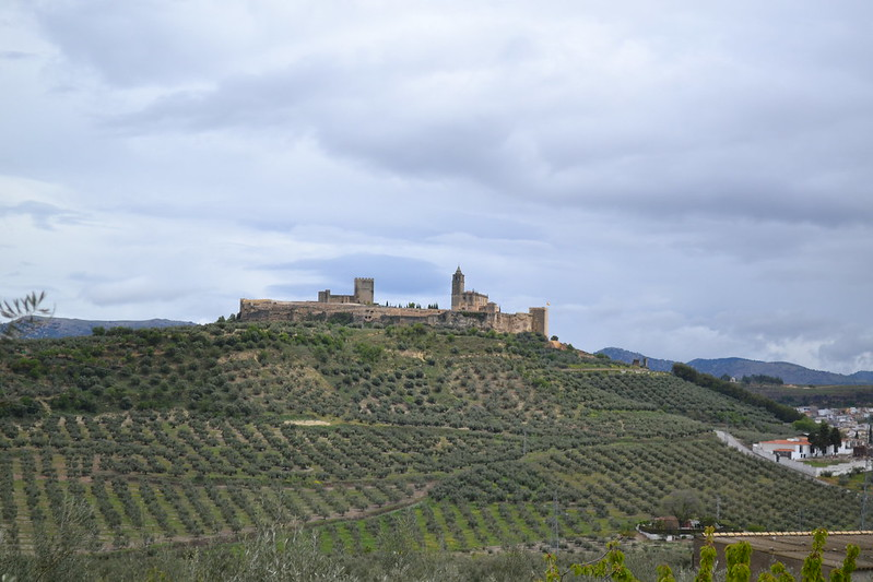 Vista del cerro de la Mota en Alcalá la Real