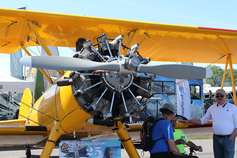 Sun N Fun 2016: Boeing Stearman Model 75