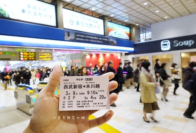 10 西武鐵道特急 川越一日遊 行程推薦