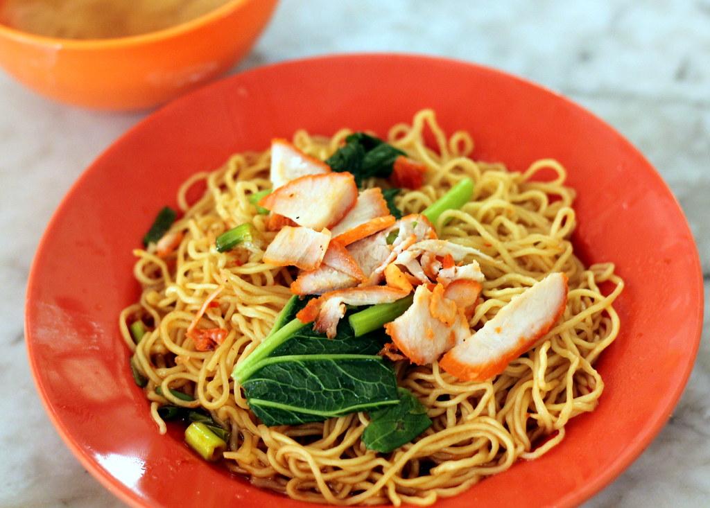 Malacca Food Guide: Heng Huat Kopitiam Wanton Mee Dry