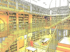 The library of the memories