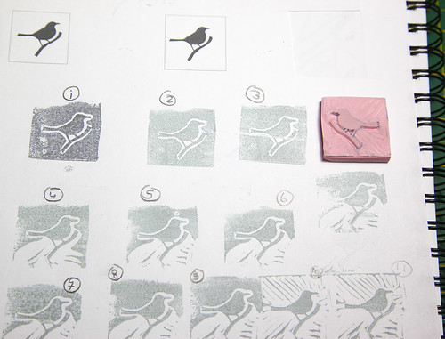 Blackbird, First Stamps