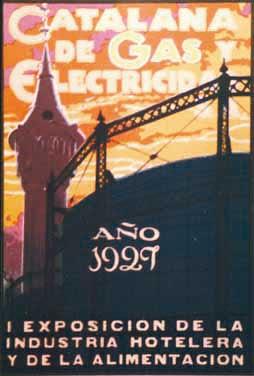 1929-Catalana-de-Gas-y-Electricidad Josep Segrelles
