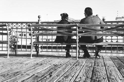 romance on the pier