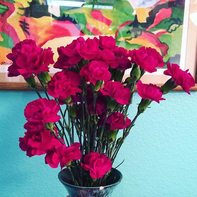 Flowers from Joshy. 💖