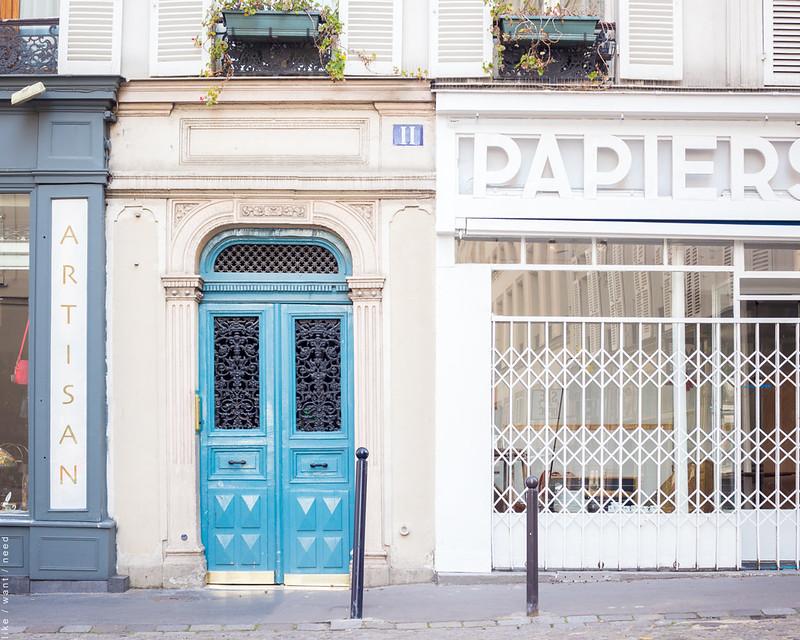Blue Door, Rue la Vieuville