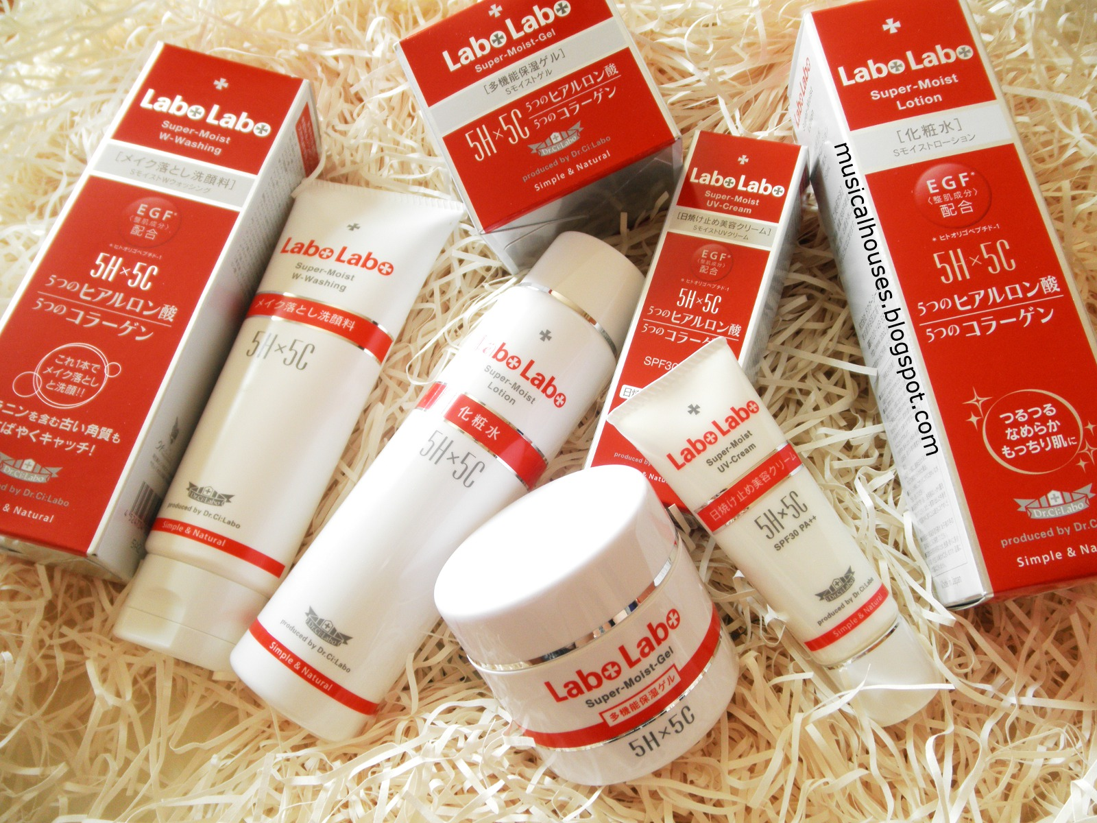 Labo Labo Super Moist 5H5C Review Dr Ci Labo Skincare