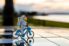 Biking to the moon
