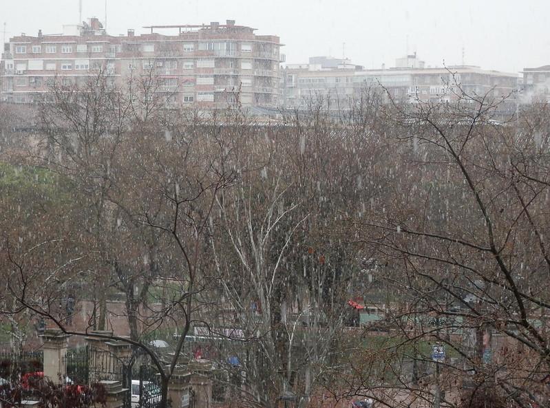 Nieva en Zaragoza copia