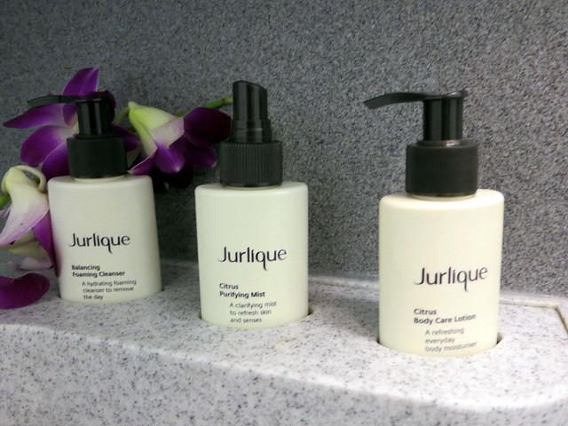 CX 777 300ER HKG to JNB- Jurlique bathroom products