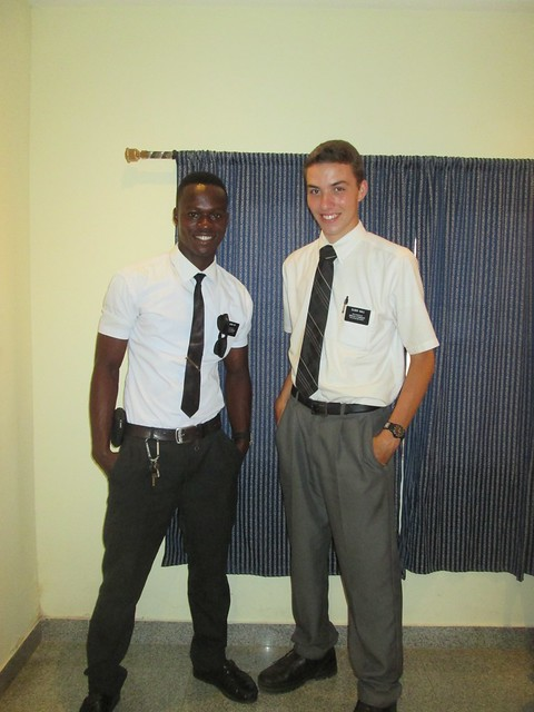 Elder Iyip and Elder Hall