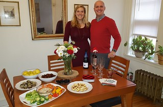 Claire & Kyle hosting their first holiday gathering on Christmas Eve