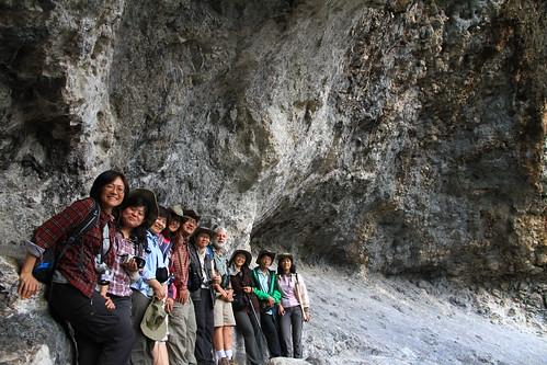 澳洲昆士蘭-Lamington NP Kweebani Cave-合影-20141120-賴鵬智攝