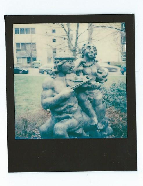 Skulptur in Dresden