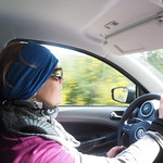Mi, 25.11.15 - 09:35 - Luzia beim Fahren