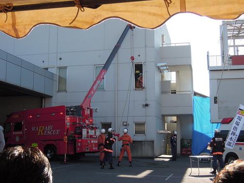 20160110 蕨市消防出初式