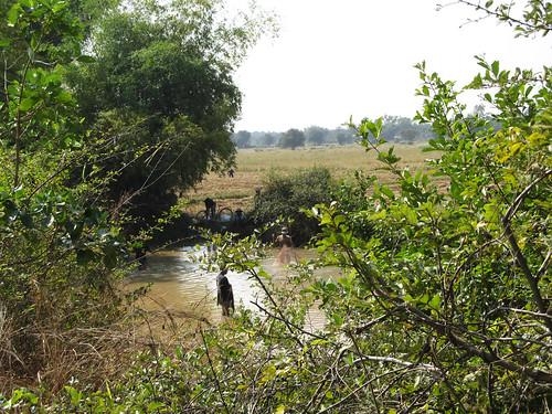 La campagne de Battambang: des pêcheurs