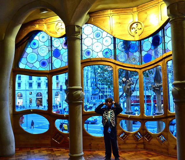 Antoni Gaudí - Casa Batllo living room