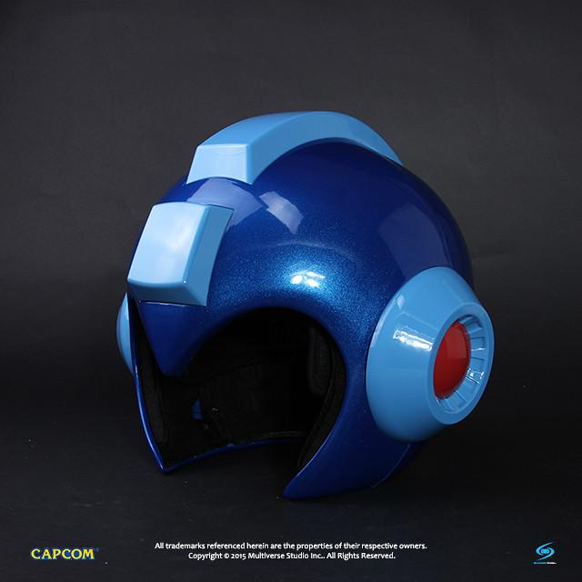 Multiverse Studio【洛克人 1:1 複製頭盔】今年度最強頭盔!!洛克人完全進化!!