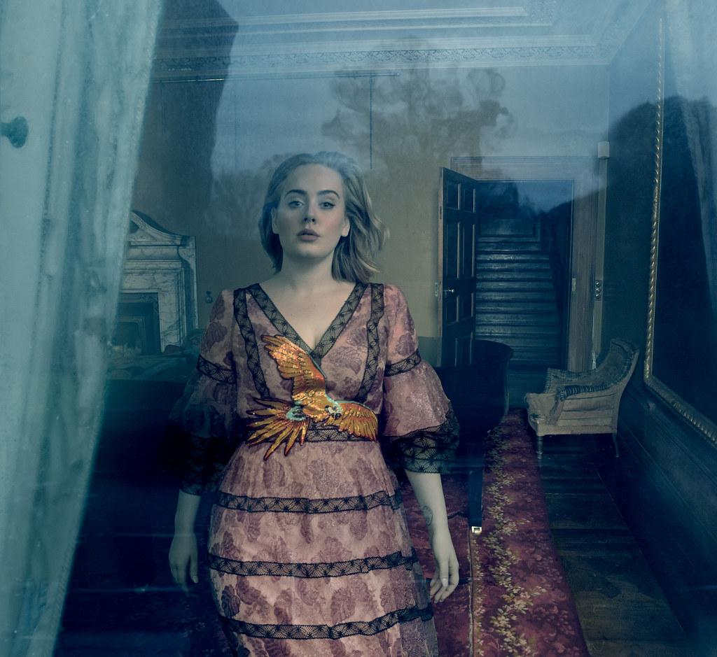 Адель — Фотосессия для «Vogue» 2016 – 6