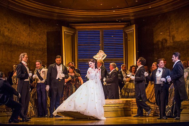La traviata © ROH, 2016. Photo by Tristram Kenton