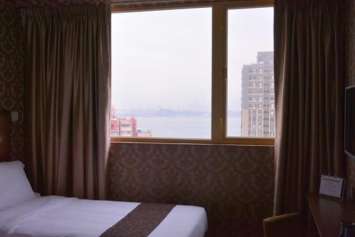 グランドシティホテルの部屋からの眺め