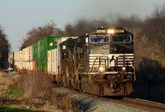 2015 11-23 1545 NS C44-9W-9421 S/B 203 at Shenandoah Jct., WV