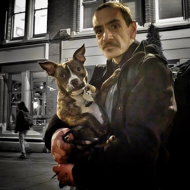 One Man and His Dog #portrait...